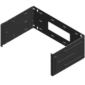 4U adjustable wall bracket