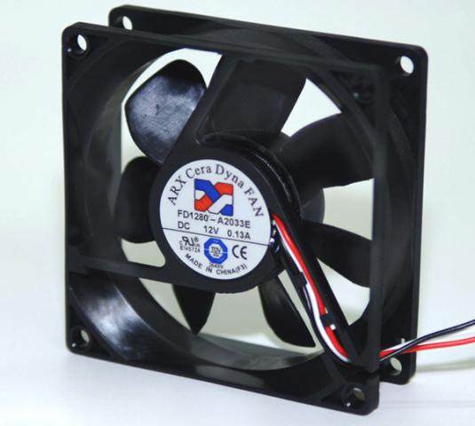 80 x 80 x 25mm CeraDyna Ceramic Bearing Fan