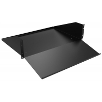 RKBM19Bk1 2U keyboard monitor shelf