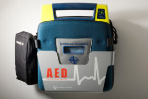 Wall Sleeve for Powerheart AED G3 Defribulator