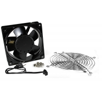Single Fan Kit with 2 grills and cord
