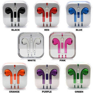 Earphone for iPhone 6 with Remote Control and Mic