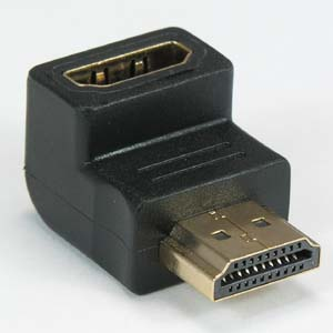 HDMI L Adapter Male Female