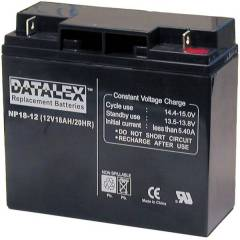 NP18-12 Datalex 12V 18Ah UPS Replacement Battery