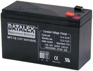 RBC8 APC COMPATIBLE BATTERIES 4 X 12V 7 AH