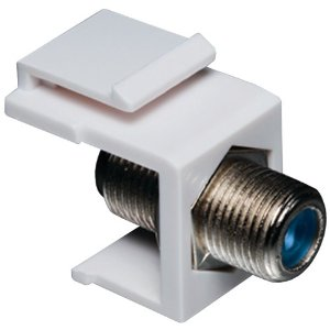 F connector keystone coupler