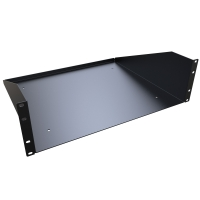 Hammond 3U cantilever solid shelf