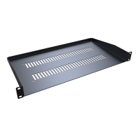 1U Vented Rack Mount Shelf