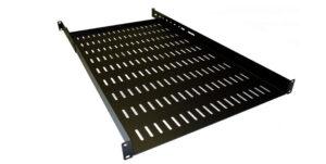 Hammond 1U adjustable depth vented shelf