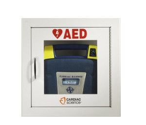 Powerheart AED Defibrillator Wall Cabinet- Surface Mount