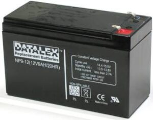 Ideal Power 12v 9ah Yuasa replacement battery
