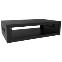 DESKTOP RACK CABINET – 2U BLACK
