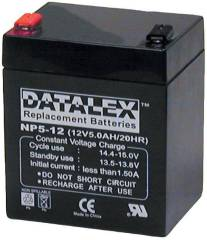 Eaton 12V 5ah Datalex replacement battery