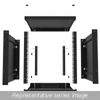 Knockdown Server Cabinet 12U w: depth 24.5
