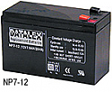UPS BATTERY CENTER NP7-12 12V 7AH REPLACEMENT BATTERY