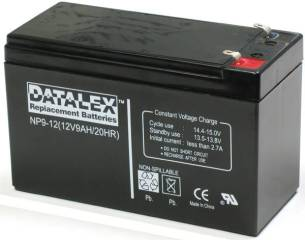 Eaton Compatible Datalex 12V 9Ah UPS Replacement Battery