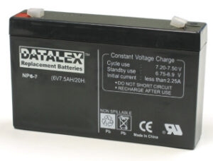 Triplite 6v 7ah Replacement battery