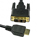 3FT HDMI MALE TO DVI-D SINGLE MALE CABLE