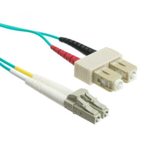 OM4 SC LC Multimode Fiber Optic Cable