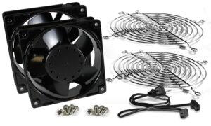 Dual fan kit